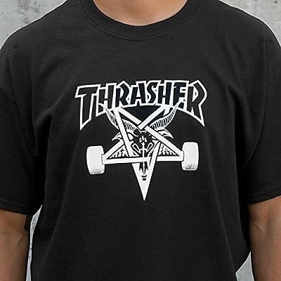 Thrasher Sk8goat Black Large T-Shirt by Thrasher