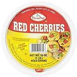 fruitcake fruit - Paradise Cherries Whole, Red, 16 Ounce