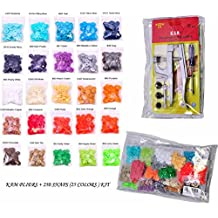 250 KAM Snaps 25-Color Kit: KAM SNAPS and SNAP Setter Press Pliers for Plastic SNAPS No-Sew Buttons Fastener Setter Hand Tool for Cloth Diapers Clothing with Clear Zip Pouch