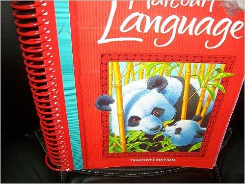Amazon Com Harcourt Language Arts Grade 3 Teacher Edition 9780153178429 Harcourt School Publishers Books