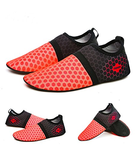 Women Socks Treadmil Men Shoes Skin Water CHRISTYZHANG Beach Shoes Sport Yoga Water Outdoor Diving Pink for Shoes Barefoot Bpqxza