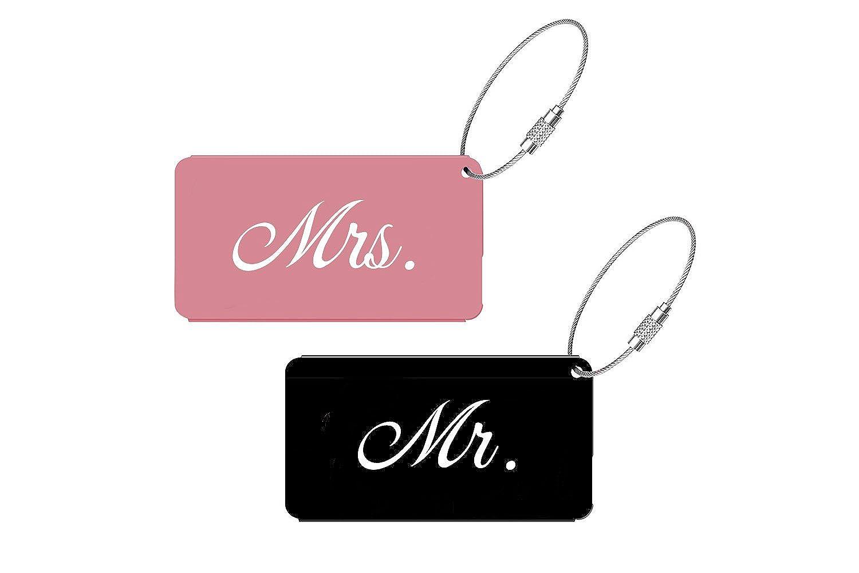 Amazon.com   Sofi Weddings Elegant Mr Mrs Luggage Tags for Weddings ...