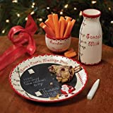 Child to Cherish Santa's Message Plate Set by Child to Cherish