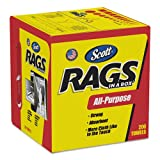 KCC75260CT Rags in a Box, 10 x 12, White