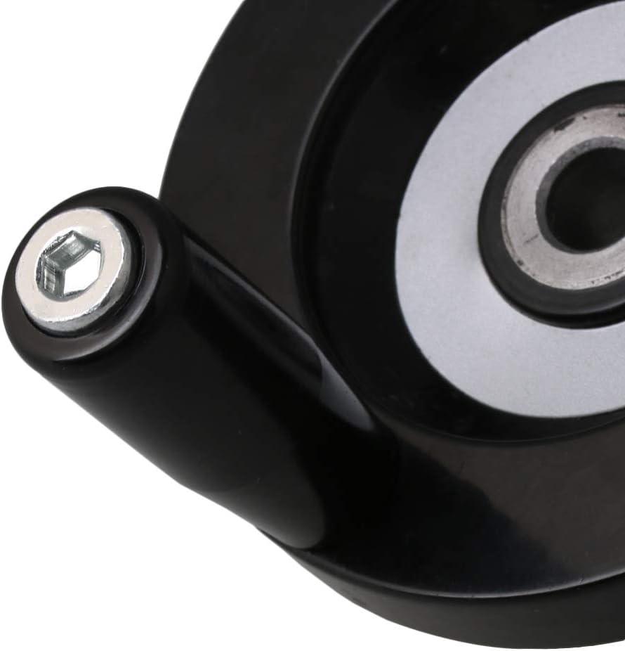 125 * 12mm Zur/ück Gewellt Drehbank Bakelit Handrad M5 63x8mm mit Drehend Griff