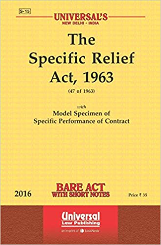 SPECIFIC PERFORMANCE ACT INDIA DOWNLOAD