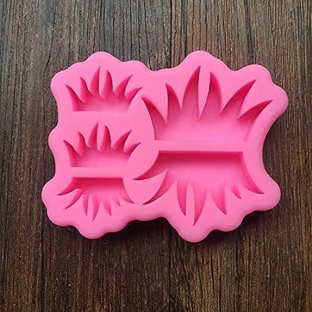 Tgsea granchio in silicone di grado alimentare amore 1 cervo gufo stampo ad angolo utensili per torte nuziali 1 stampo a forma di erba verde per sapone stampo 3D per decorazione torte