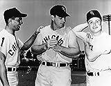 Ted Kluszewski - Luis Aparicio - Nellie Fox Chicago White Sox 8 x10 Photo - Mint Condition