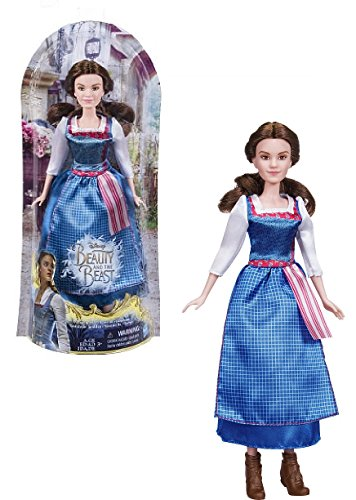 NEW! Disney Beauty and the Beast - BELLE VILLAGE DRESS DOLL - Inspired by Live-Action Movie