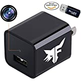 [UPGRADED] Hidden Spy Camera Phone Charger - Stealth Nanny Cam with 32GB Removable Memory & Motion Detection - Perfect for Hotel Office Nursing Home Surveillance