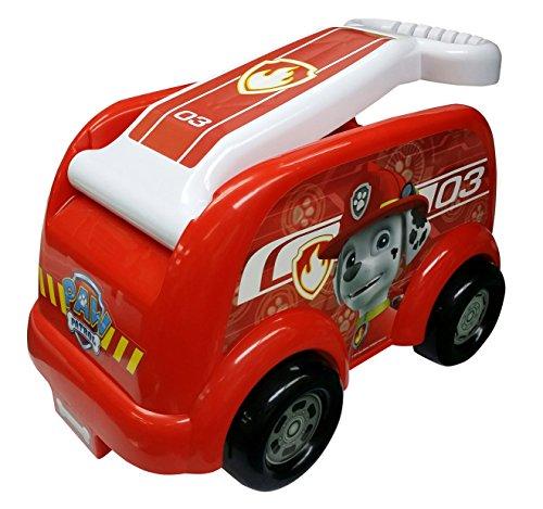 Paw Patrol Roll N Go Fire Engine Wagon, Red