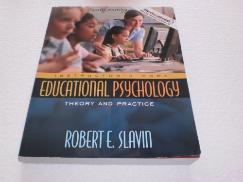 Educational Psychology Theory and Practice Instructor's Copy