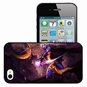 Personalized iPhone 4 4S Cell phone Case/Cover Skin Sorak League Of Legends Black