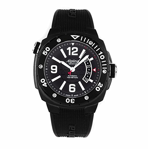 Alpina Adventure Extreme Diver swiss-automatic mens Watch AL-525LBB5FBAEV6 (Certified Pre-owned)