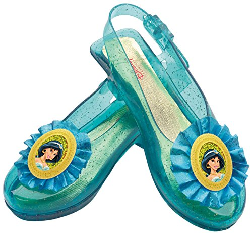 [Disguise Disney Princess Aladdin Jasmine Sparkle Shoes] (Halloween Jasmine Costume)