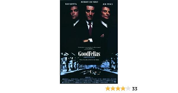 30 24x36 Poster Goodfellas Movie Classic Black White Film Actor T-1831