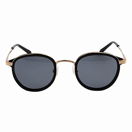 Ultra ligero para hombre Gafas de sol polarizadas redondas de los hombres gafas de acetato de