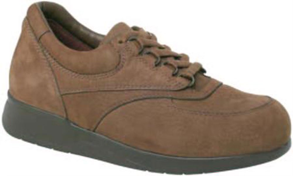 Women's BLAZER PLUS II Lace Oxford Shoe - Brown Nubuck Size: 10.5 Width: WW - 1 pair