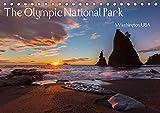 The Olympic National Park - Washington USA (Tischkalender 2020 DIN A5 quer): Der Olympic National Park ist UNESCO Biosphärenreservat und Weltnaturerbe ... werden kann. (Monatskalender, 14 Seiten )