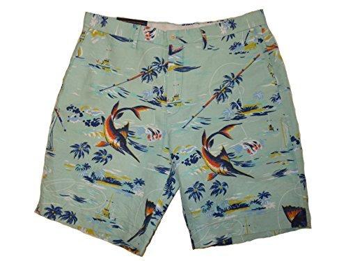 Ralph Lauren Linen Shorts - RALPH LAUREN Polo Mens Classic Fit 6