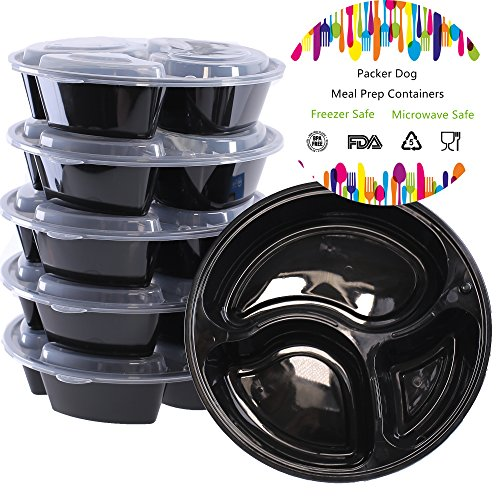 Packerdog Compartment Containers Stackable Dishwasher product image