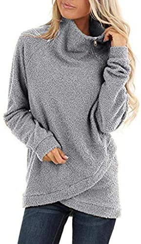 Nihewoo Women Sweater Pullover Warm Coat Jumper Knitted Sweaters Cowl Neck Blouse Tops Autumn Winter Shirts Outerwear