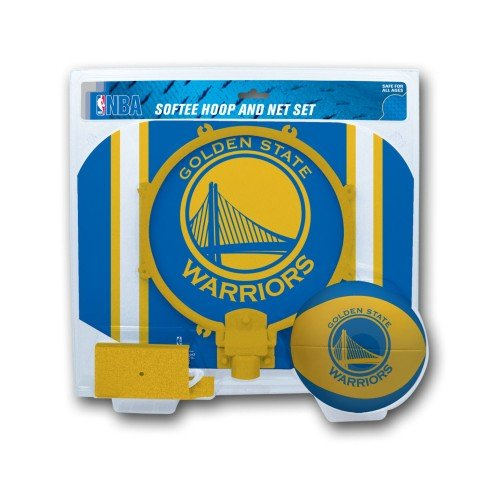 Softee Hoop Set - NBA Golden State Warriors Slam Dunk Softee Hoop Set