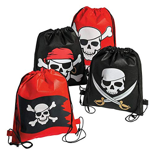 Pirate Drawstring Bags - 12