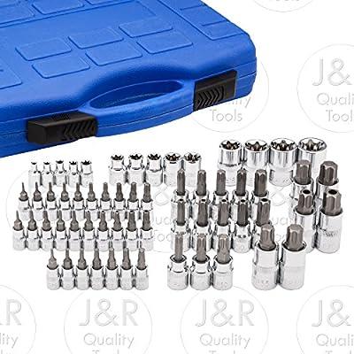 Vector Tools Master Torx Star Socket Set, 60-Piece