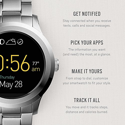 Fossil Q Founder Gen 2 Stainless Steel Touchscreen Smartwatch FTW2116 by Fossil (Image #1)