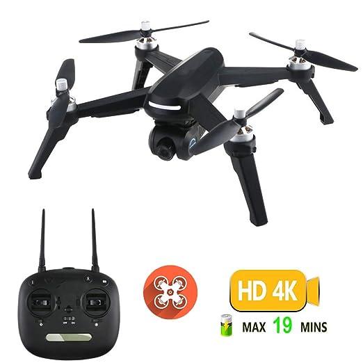 Drone GPS, Drone con Cámara 2K HD con Follow Me, 120º Gran Angular ...