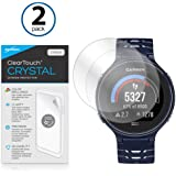 BoxWave Garmin Forerunner 220 ClearTouch Crystal (2-Pack) Screen Protector - Ultra Crystal Film Skin to Shield Against Scratches for Garmin Forerunner 220