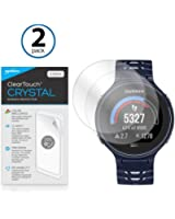 BoxWave Garmin Forerunner 235 ClearTouch Crystal (2-Pack) Screen Protector - Ultra Crystal Film Skin to Shield Against Scratches for Garmin Forerunner 235