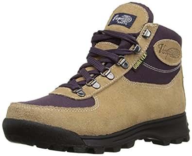Vasque Women's Skywalk Gore-Tex Backpacking Boot, Desert Sand/Plum, 6 M US
