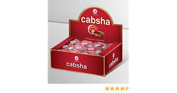 Amazon.com : CABSHA Bocaditos de Chocolate Semiamargo 480 grs. 48 unidades : Grocery & Gourmet Food