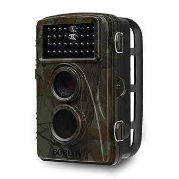JUILARY-Surveillance Cameras Caza Cámara Exterior HD Impermeable Infrarrojos Visión Nocturna Sensor De Movimiento Detección