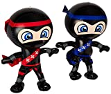"Set of 2 Inflatable 24"" NINJAS/PARTY"