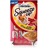 Delectables Squeeze Up With Chicken 4-CT in 1- Pack (net wt 2 oz )