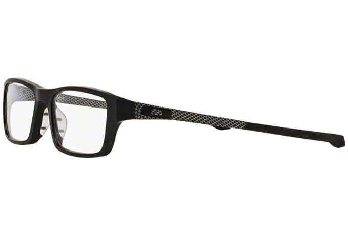 1aa43e6081 Oakley Chamfer OX8039 Eyeglasses -13 Satin Black -51mm at Amazon Men s  Clothing store