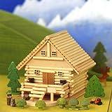 山荘ものがたり /ログハウス貯金箱/工作キット