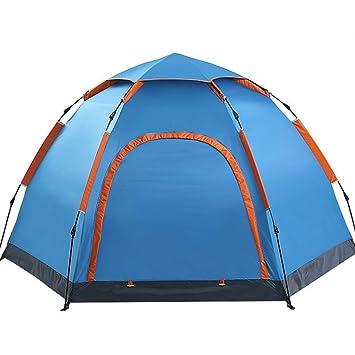 CATRP Marque Tente Hexagonale 3-5 Personne Grand Espace ...