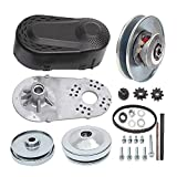 "MOOSUN Torque Converter Comet Clutch Go Kart Clutch 1 Inch Replaces Comet TAV2 Manco 10T 40 or 41 and 12T 35 Chain Drive Belt (1"" 10T 40/41 and 12T 35 Chain)"