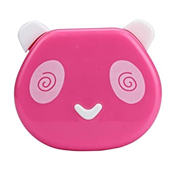 Lovely Contact Lens Box Cute Panda Cartoon Unisex Container For Contact Lens Case Latest Technology Apparel Accessories