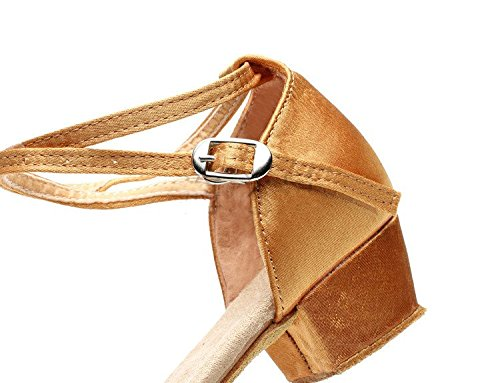 Tango Brillante Gaorui Dance Waltz Ballet Glitter Shoes Ballroom Salsa Women Black Heeled Latin Girl RRYv5rx