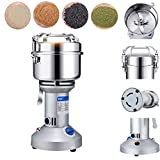 220V 550W 750g High Performance Grain Grinder Mill Powder Stainless Electric Machine Swing Commercial Type