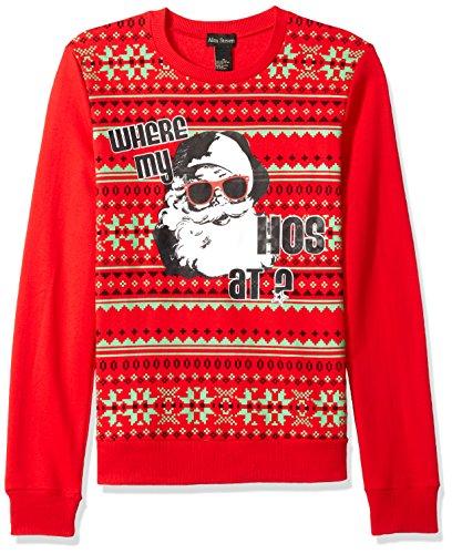 Alex Stevens Mens Where My Hosugly Christmas Sweater