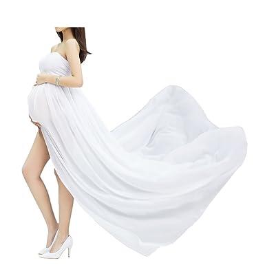 48371c701047 Abiti di gravidanza Vestiti in chiffon da protagonisti delle donne di  pregnants di fotografia fuori dai