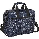 J World EXECUTIVE 15.4'' Laptop Briefcase in Love Black