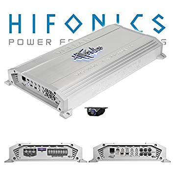 Hifonics - Amplificador de 4 canales vulcan vxi-9404, color plata