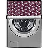 Stylista Washing Machine Cover for LG 7 kg FH2G6HDNL42 Fully-Automatic Front Load Floral Printed Pattern